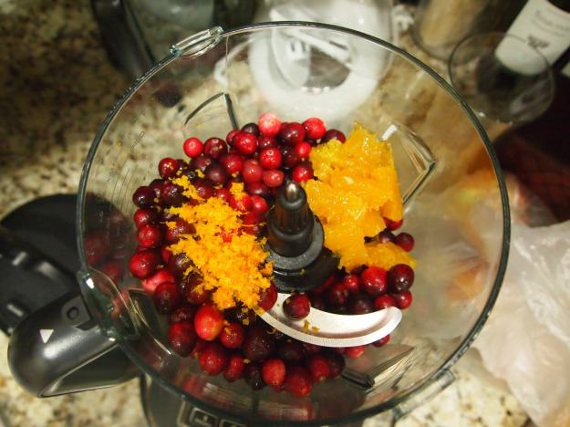 no-cook orange cranberry relish